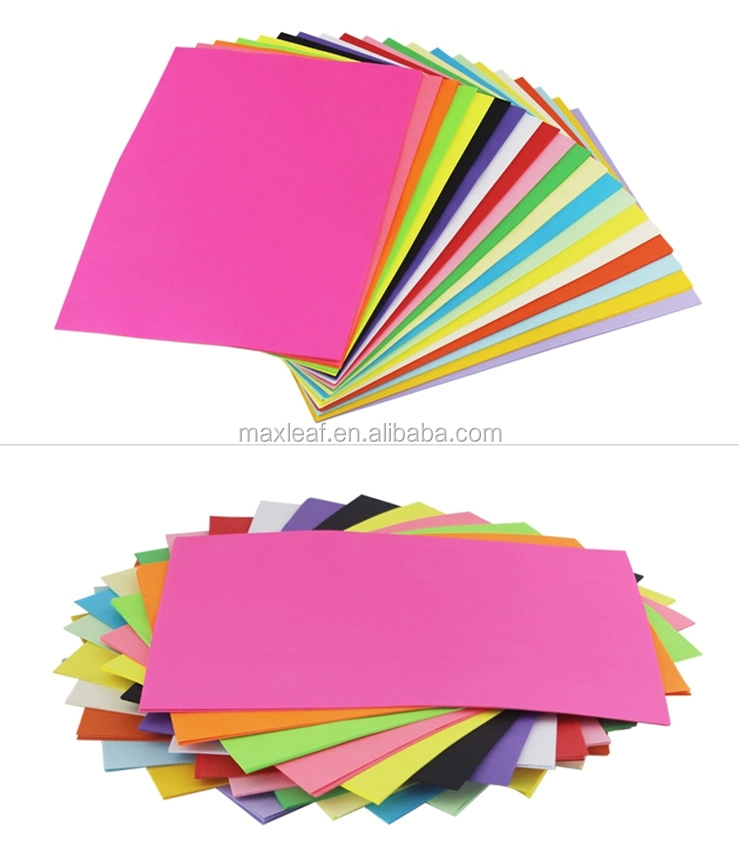 A4 Colored Printable Photocopy Paper Of Single Color Pack