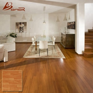 natural wood grain color look ceramic parquet tiles 600x600mm gujarat toilet floor anti slip ceramic tiles wooden flooring