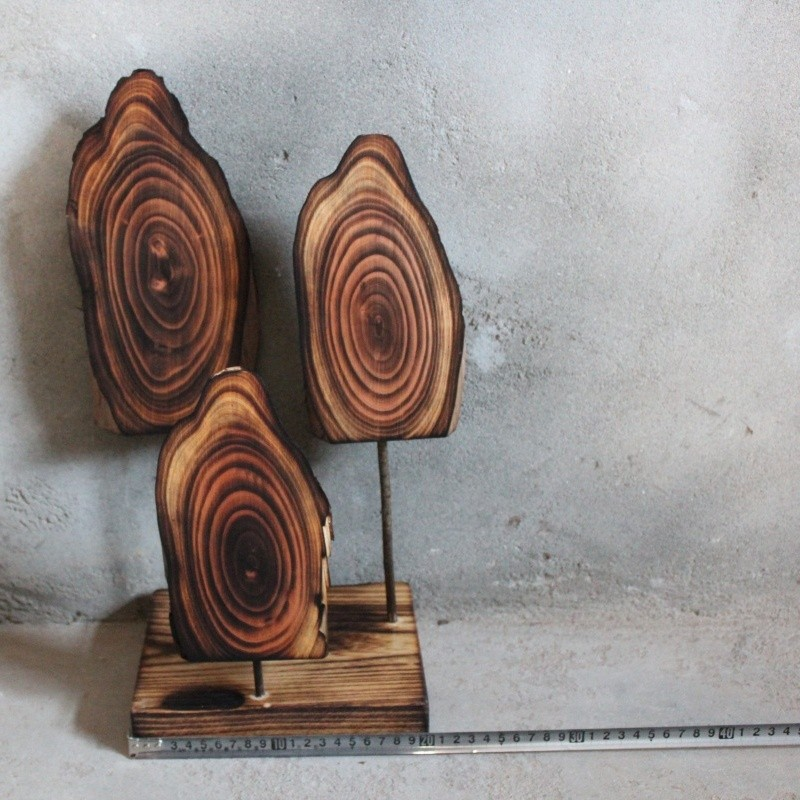 Wholesale art minds crafts rustic wood crafts natural tree for Wholesale wood craft cutouts