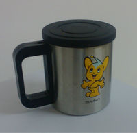 Stainless steel travel mugs with customed LOGO