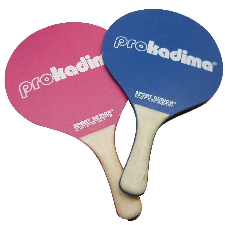 Sports Design: Pro Kadima Color Paddle Ball (Red & Blue)