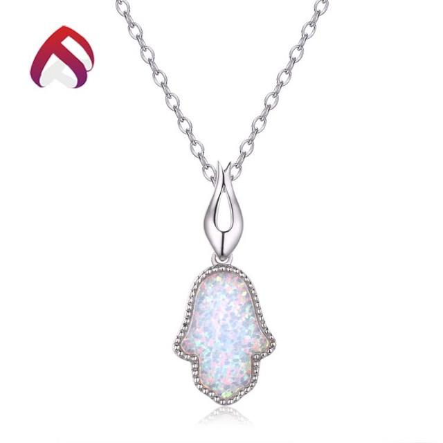 China hamsa jewelry pendants wholesale alibaba 925 silver hamsa opal pendant jewelry wholesale opal hamsa pendant spd81103 2 aloadofball Gallery