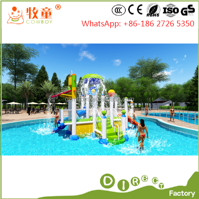 2017 New colorful water playground equipment/swimming pool toys for sale