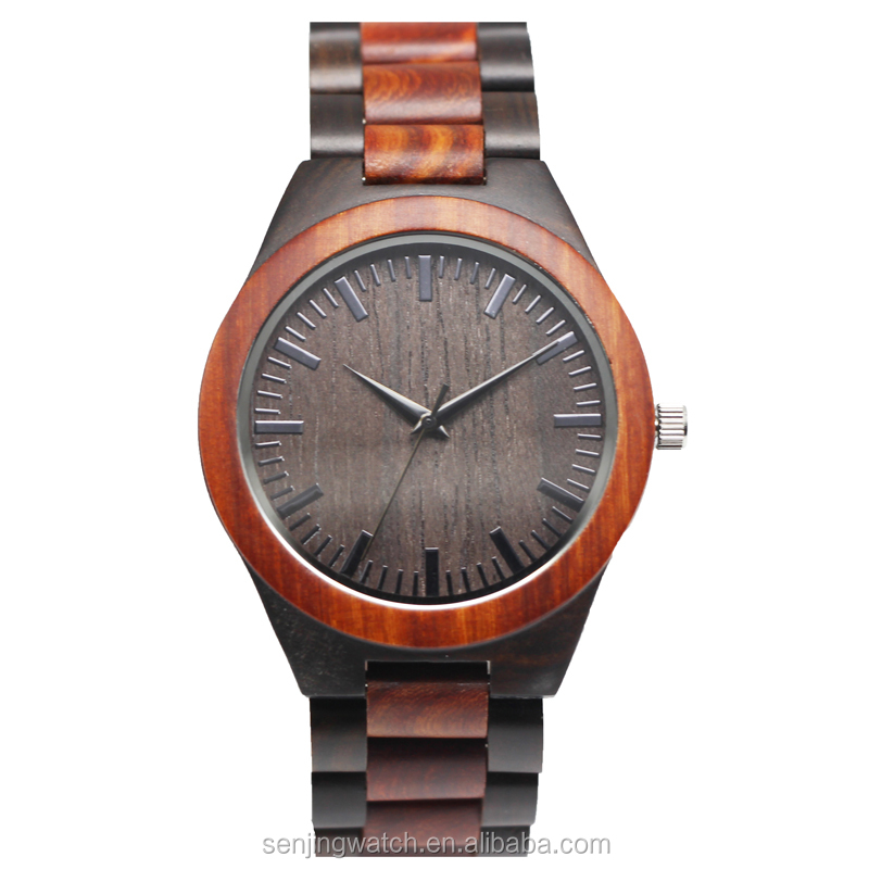 quartz mens products hands wood wristwatch custom bird zebra with in full watches gift product luminous bamboo wooden band bobo image logo box