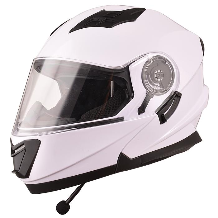 New Dot Flip Up Cascos Modular Motorcycle Helmet With Bluetooth