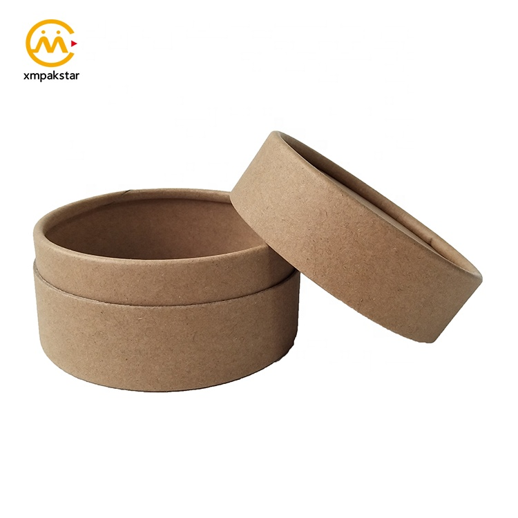 Customized cardboard tube small round packaging boxes for loose tea