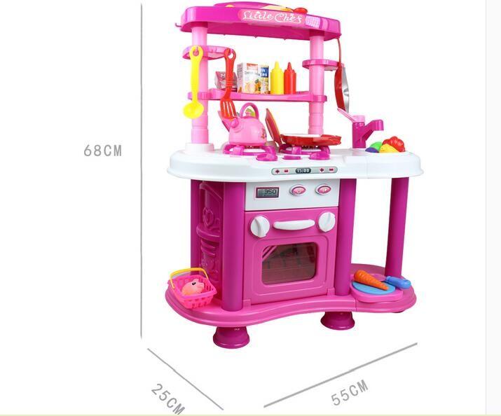 Plástico Juguete Inteligente Juego De Cocina Juegos De Cocina Para Niñas  Niños ...