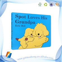 Hard cover printing service for brochure children book