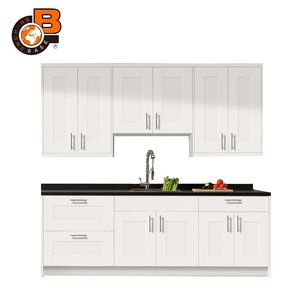Kitchen Vanity Cabinet with Curved Doors