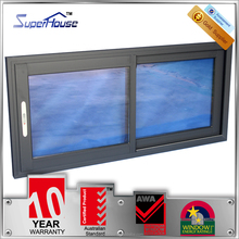 double insulated soundproof glass roof sliding windows with german hardware