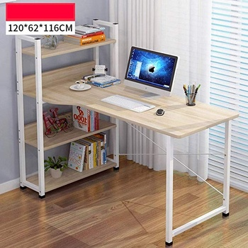 Table Notebook Simple Desk Bookshelf