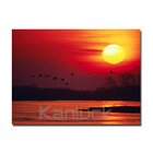 Sunset Pictures Giclee Printing on Canvas / Landscape Photographic print Wall Art