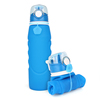 Kean New Products Outdoor Sports Water Bottle 1000ml Silicone Foldable Water Bottle