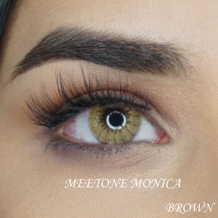 Meetone Monica 1 year using luminous colors korea contact lenses