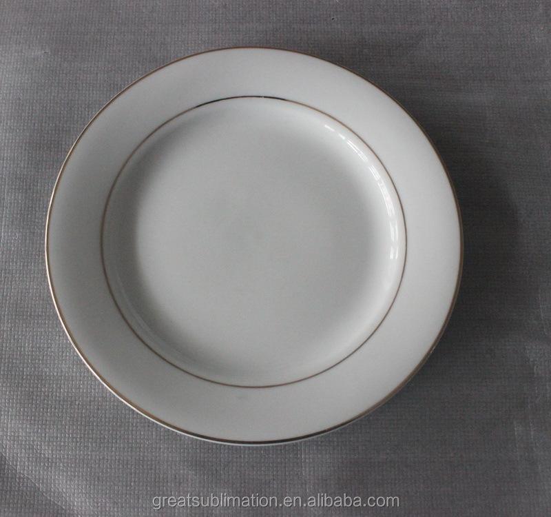 Wholesale Sublilmation Blank Ceramic Dinner Plate Buy Ceramic Dinner Plate
