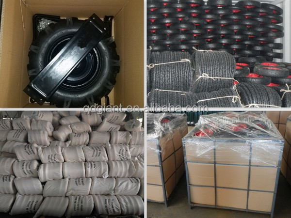 "8"" solid rubber tyre for cart"