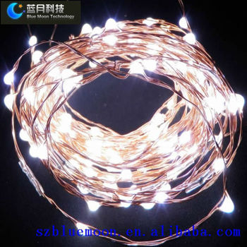 dc12v 10m100leds wholesale christmas rice lights with a timer