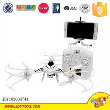 New cheerson CX-33 2.4G RC Media scorpion Quadcopter with 3D Flip led lights HD camera RC aircraft