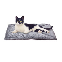 Thermal Cat Mat Cozy Self Heating Cat Pad Reversible Washable Pad (22''x 18'')