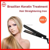 LCD Dispaly Hair Straighteners Titanium Ceramic Hair Straightener Iron Ionic Pro Nano private label flat iron