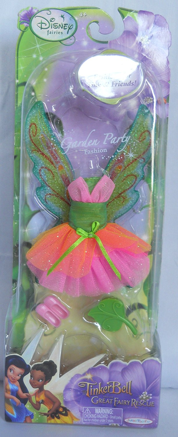 Disney Fairies Tinkerbell Great Fairy Rescue Garden Party Dress for Tink and Friends