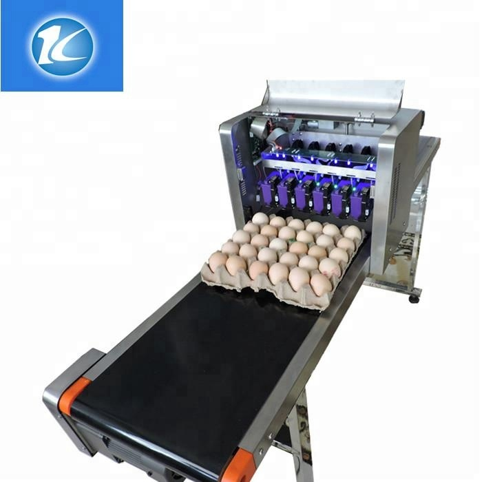 Continuous date eggs inkjet printer / hotest selling machine for ink eggs