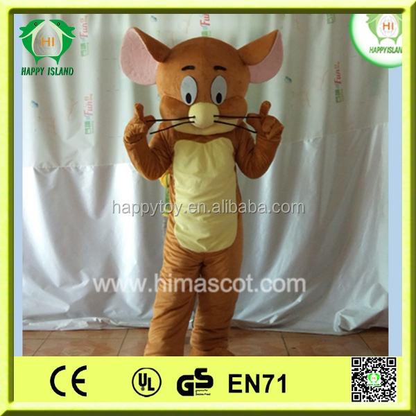 HI CE high quality Tom and Jerry mascot costume,Christmas Tom and Jerry costume,cartoon Tom and Jerry mascot