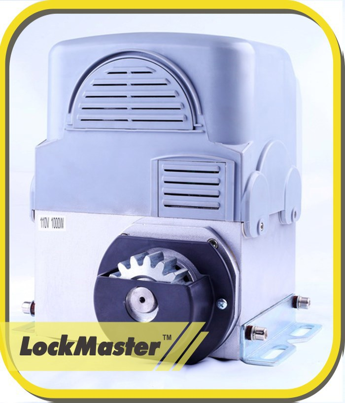 CE/EMC Approved Lockmaster Auto Close Electric Sliding Gate Motors With Control Board