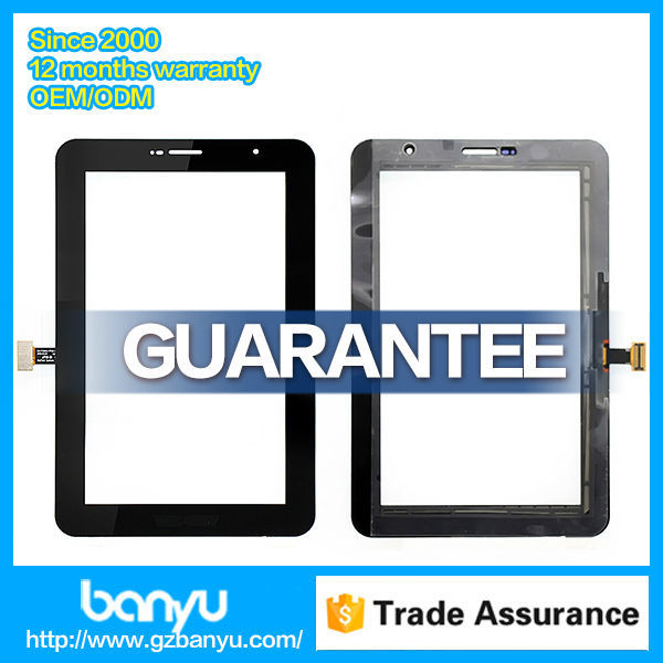 Manufacturer wholesale original touch replacement for samsung galaxy p3100 screen