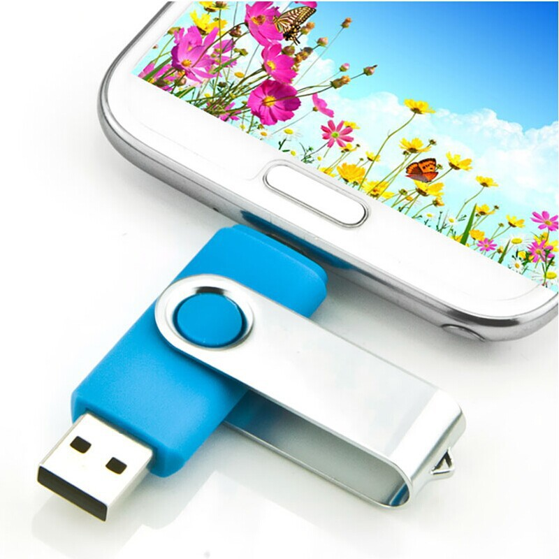 Freeshipping New Mobile Phone USB Flash Drive Computer OTG USB Flash Drive Pen Drive USB Stick External Storage 4GB