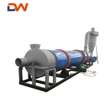 Industrial Herb Hay Chicken Manure Cow Dung Wood Shaving Chip Sawdust Rotary Drum Drying Dryer Machine Equipment Price For Sale