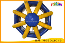China manufacturer PVC water game / inflatable rolling balls / inflatable toys for sale