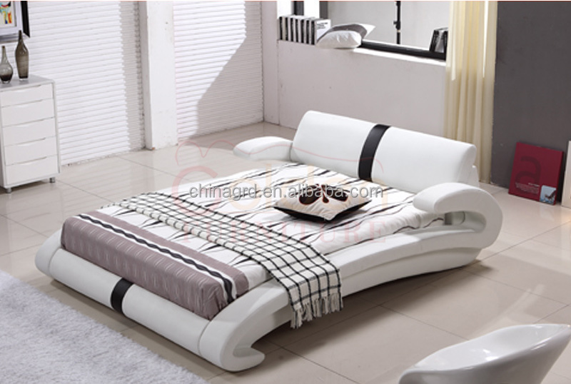 Captivating Alibaba Latest Design Bedroom Furniture King Size Bed Dimensions G1023