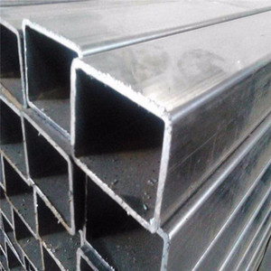 Factory price structure tube rectangular aluminum steel tube