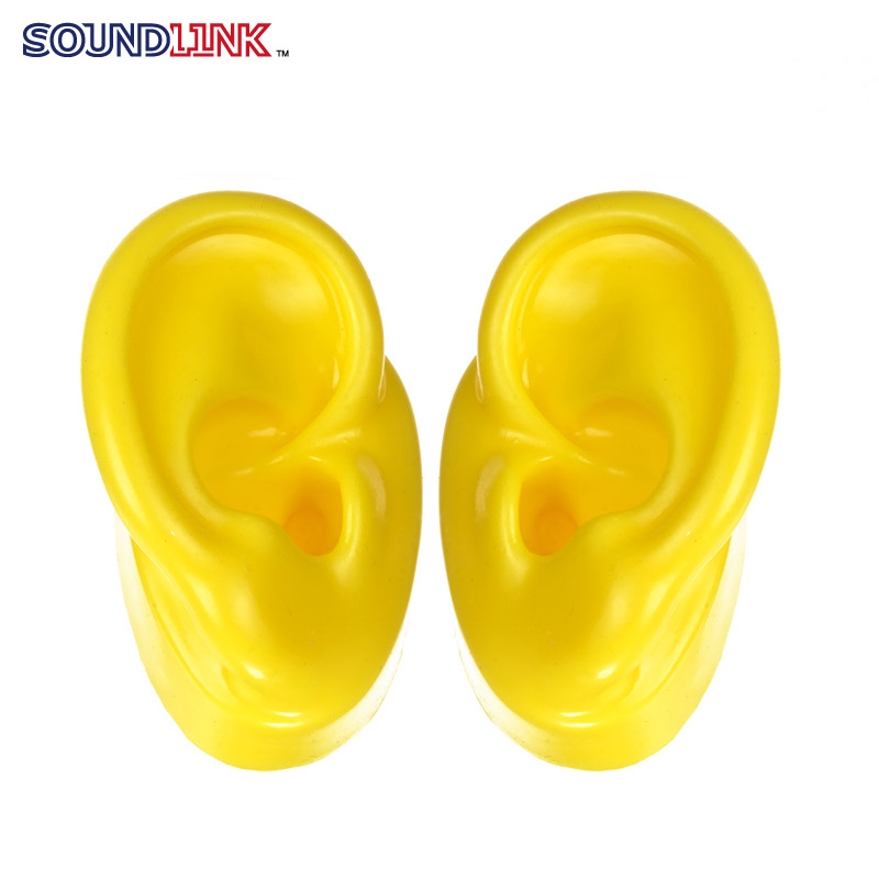 human silicone ear model for showing cic hearing aids