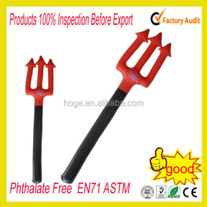 FANCY DRESS HALLOWEEN INFLATABLE DEVIL FORK 105CM