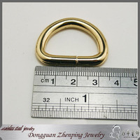 Stainless steel d-ring jewelry d ring
