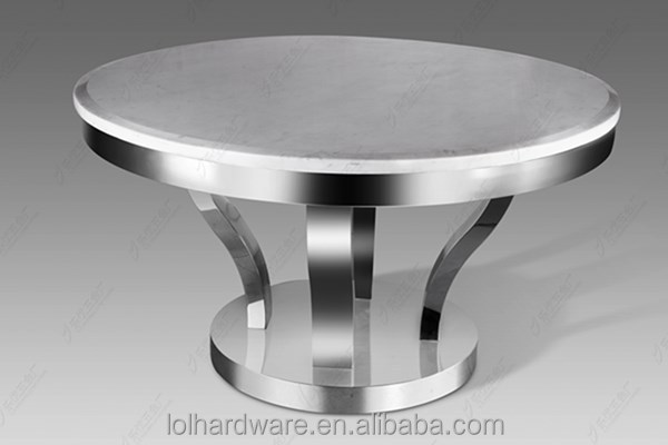 Round Stainless Steel Dining Table, Round Stainless Steel Dining Table  Suppliers And Manufacturers At Alibaba.com