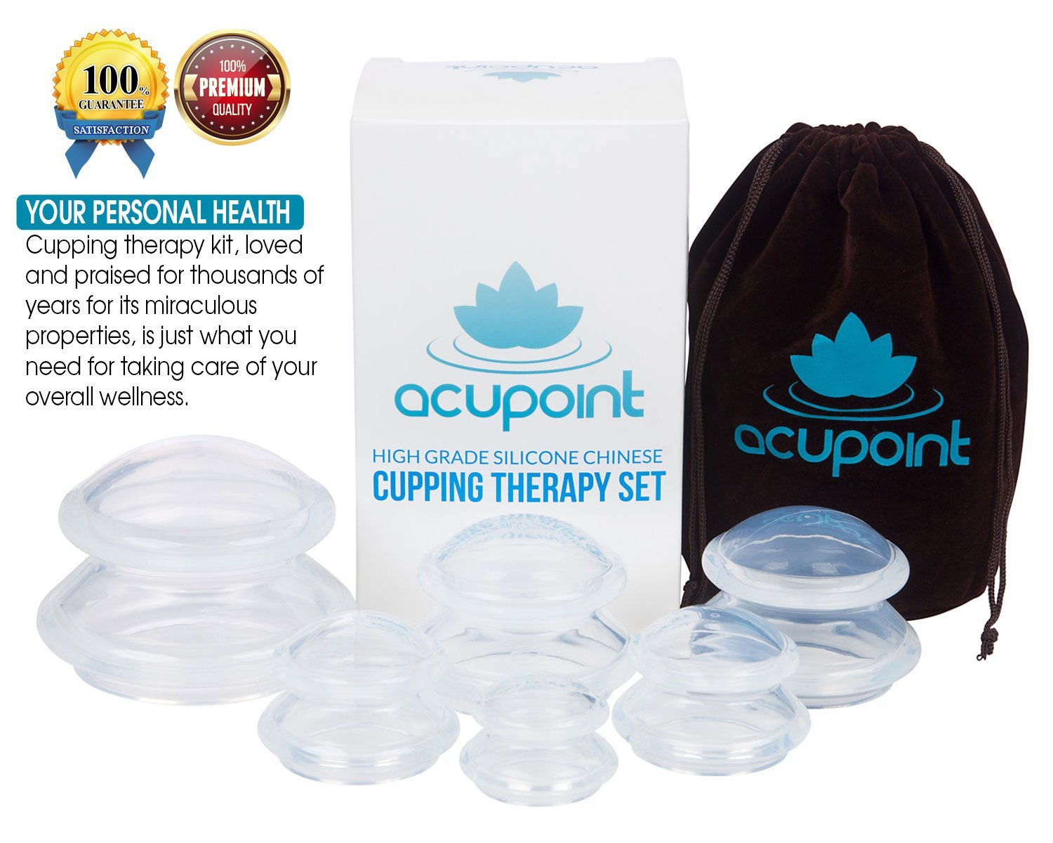 Health & Beauty Hansol Massage Cupping Set 10 Cups High Quality Relief Pain Vacuum Therapy Grade Products According To Quality