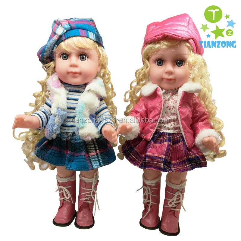 14inch baby toys for kids fashion design for girls vinyl <strong>dolls</strong>