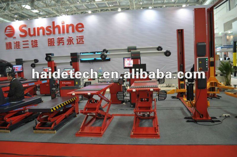 Good price sunshine mini scissor car lift with CE certification