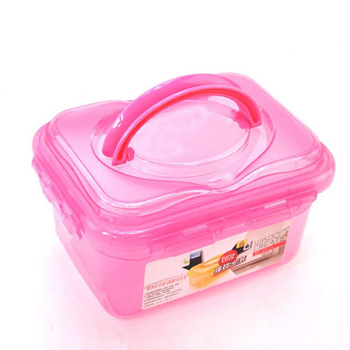 10l Plastic Storage Box Wth Folding HandleAirtight Storage