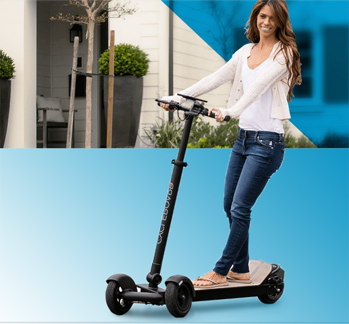 Plegable mini de pie eléctrico scooter de 3 ruedas para adultos plegable monopatín