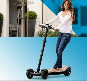 foldable mini electric foot scooter 3 wheels adult foldable Skateboard