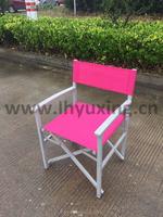 outdoor Aluminium foldable director beach chair garden folding relax armchair portable camping chair
