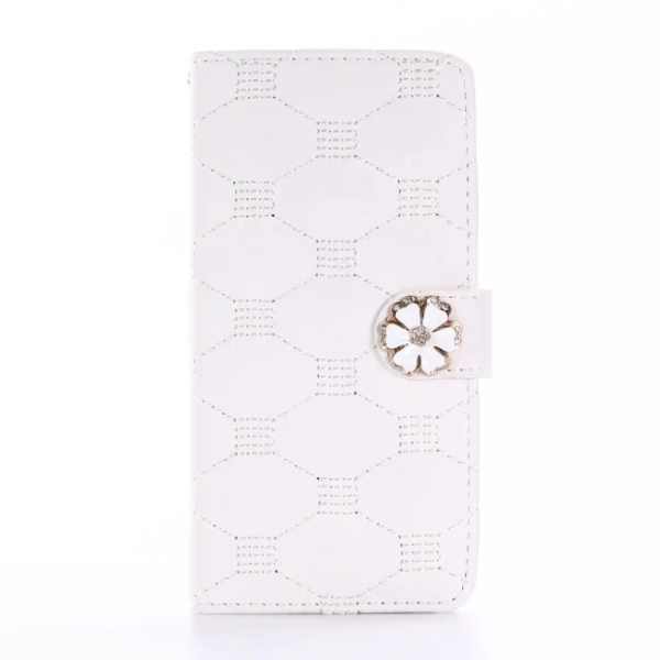 New design skin feel phone shell embroidered leather phone case for iPhone 7