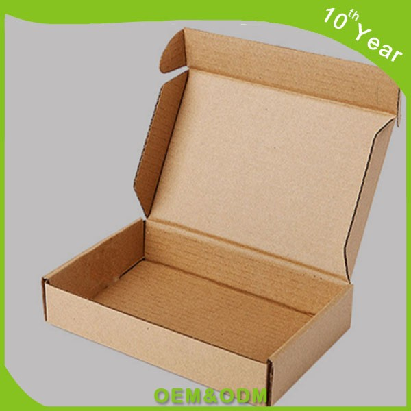 CONSUMER ELECTRONICS PACKAGING BOX TAB LOCK FOLDING CORRUGATED PAPER BOX