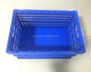 plastic widely use turnover box container /export portable hard plastic box