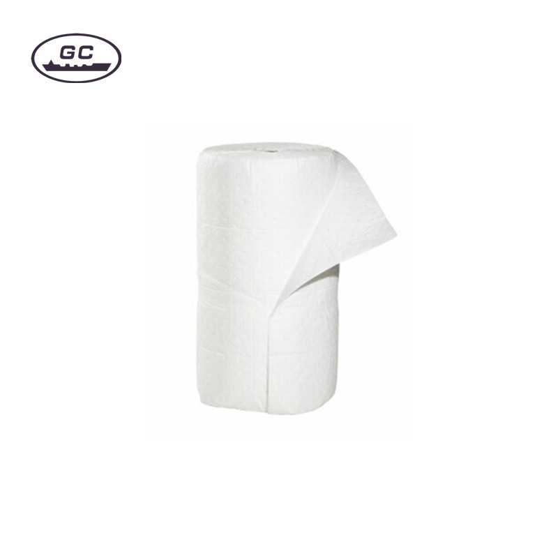 High Quality White Oil Absorbent Roll for Marine and Industry Oil Spill Control