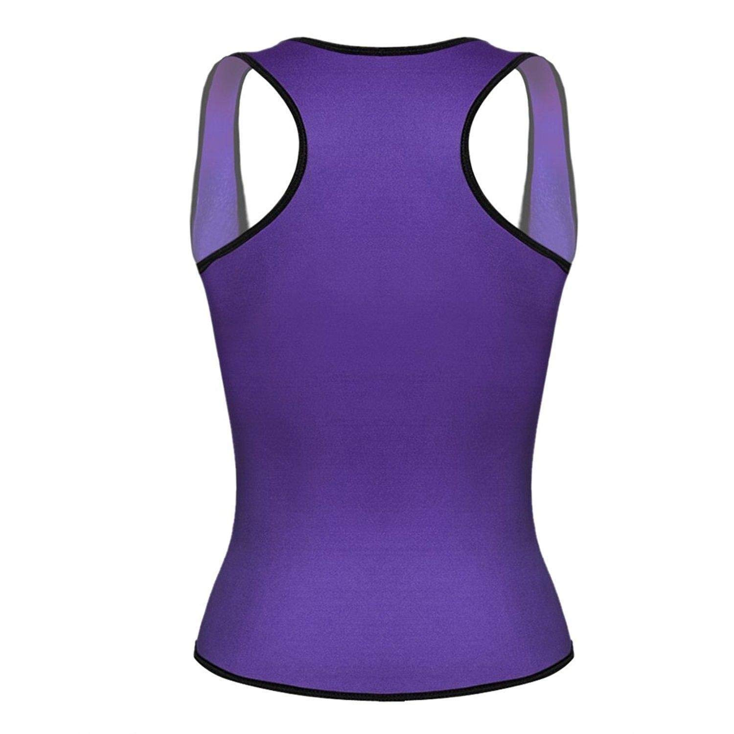 0a2915f4c58 Get Quotations · Vividy Waist Cincher Tank Top Vest ODY Shapers for Weight  Loss Waist Trainer Corset for Weight
